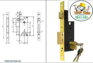 Stainless Steel Euro Standard Mortise Lock Body