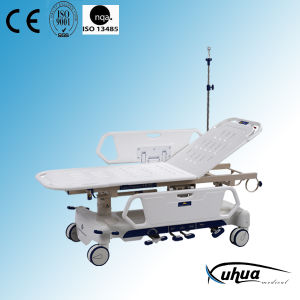 Multifunction Hydraulic Hospital Patient Transfer Stretcher Trolley (XH-I-3) pictures & photos