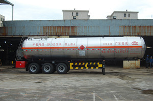 Liquefied Gas Transport Semi Trailer (KP9400GRY)