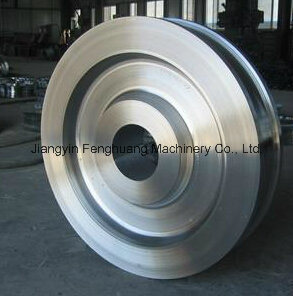 A504 Class Carbon Steel Hot Forging Forged Wheel pictures & photos
