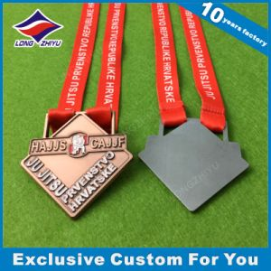 Taekwondo Medal Alloy Custom Logo Ribbon Medal pictures & photos