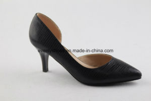 Latest Design Ladies High Heel Shoes for Office pictures & photos