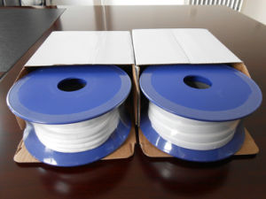 White Expand PTFE Elastic Tape/ Belt/ Ribbon for Industrial Seal (3A3005) pictures & photos