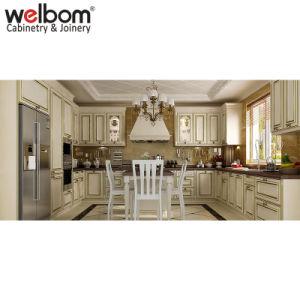 Welbom Hot Sale Classic White Wood Kitchen Cabinet