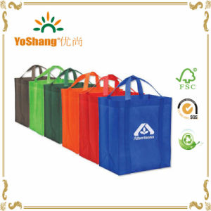 Colorful Custom Logo Non Woven Promotion Shopping Bag pictures & photos