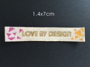Woven Label with Different Design for Clothing