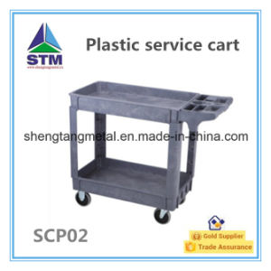 High Quality Plastic Service Cart