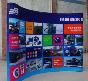 230X300CM Magnetic PVC Straight 10FT POP up Display Wall Banner