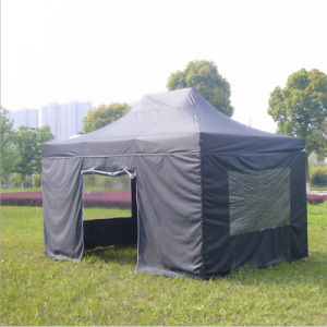 3X4.5m Steel Frame Folding Canopy Tent with Sidewall pictures & photos