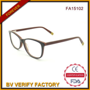 Fa15102 Newest Trend Fancy Glasses Fashion Women Acetate Designer Glasses pictures & photos