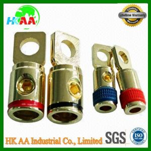 Cable Ring Terminals with Gold or Nickel Plated pictures & photos