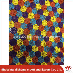 Multi Color Guipure Lace for cloth pictures & photos