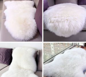 Top Quality Real Sheep Fur Skin with Factory Price