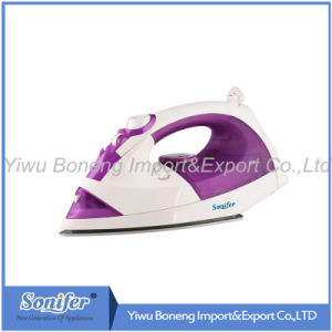 Steam Iron Kb-175 Electric Iron with Ceramic Soleplate (Purple)