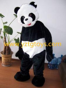 Adult bear costume panda can