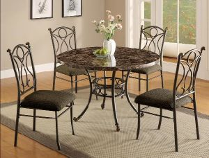 1319 Metal Dining Set pictures & photos