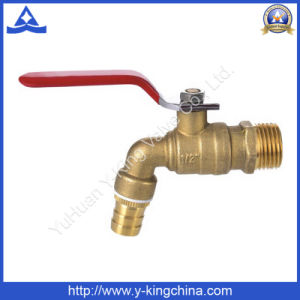 India Hot Selling Forged Brass Water Bibcock Tap (YD-2020) pictures & photos