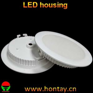 LED Down Light Plastic Housing for 5 7 Watt Down Light