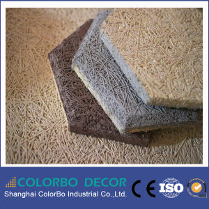 Sound Insulaiton Interior Decorative Wood Wool Acoustic Wall Panel Board pictures & photos