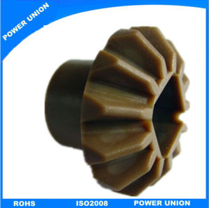 Peek Plastic Bevel Miter Gear with Injection Moulding pictures & photos
