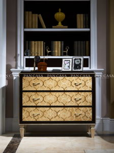 High Quality Classical Wooden Furniture Living Room Cabinet (MS-A6041e)