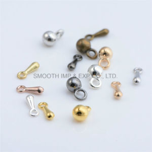 DIY Necklace Tail Material Alloy Droplets Pendant Necklace Extension Chain