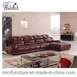 Antique Furniture Leather L Shape Sofa