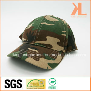 Cotton Drill Army /Military Green Camouflage Summer Baseball Cap pictures & photos