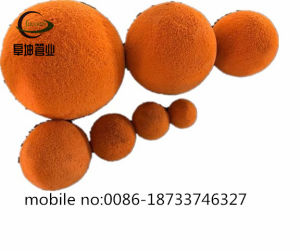 Design Condenser Tube Cleaning Ball, Hot Sale Cleaning Rubber Sponge Ball