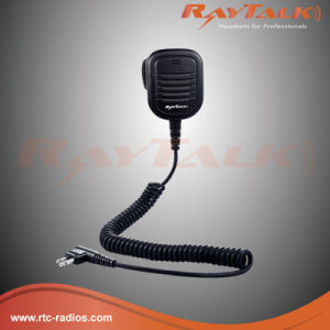 Speaker Mic with 3.5mm Audio Jack for Two Way Radio pictures & photos