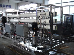 EDI Reverse Osmosis Water Treatment Electroplating Ultra Pure Water Plant pictures & photos
