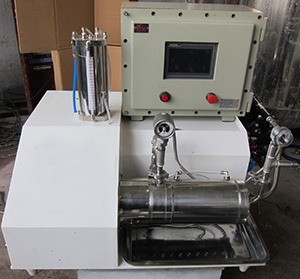 Lab Horizontal Sand Mill for Coating, Paint, Ink Wet Grinding pictures & photos