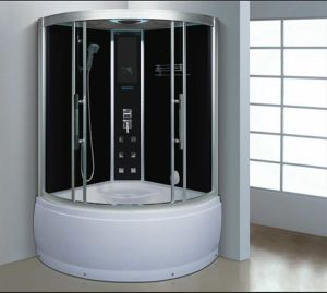1150mm Sector Steam Sauna with Jacuzzi (AT-G0906) pictures & photos