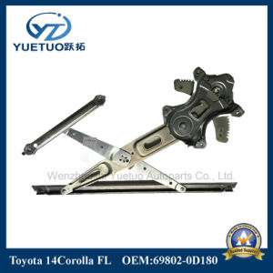 Car Parts Window Lifter for Toyota 14corolla Front Left 69802-0d180 pictures & photos