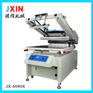 Semi Automatic Cylinder Flat Screen Printing Machine