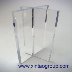 Clear Acrylic Plate for Stand Frame