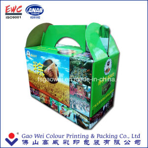 Recycle Quality Custom Design Colorful Corrugated Paper Box Carton pictures & photos