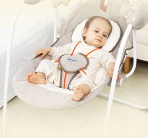 Wholesale New Design Baby Swing Bed Automatic Cradle With Ce Certificate