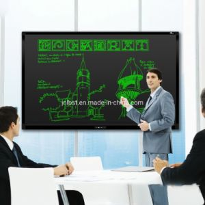 Anti-Glare 66 Inch LCD Film Smart Writing Board with Ce