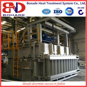 Natural Gas Heating Furnace with Self Preheating Burner