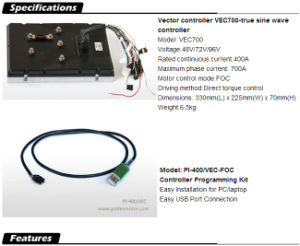 High Efficiency, BLDC Motor 20kw Electric Car Conversion Motor Kit pictures & photos