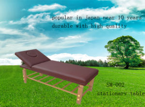 Deluxe Stationery Massage Table (SM-002) pictures & photos