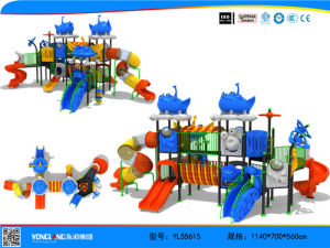 Children Plastic Outdoor Playground Equipment (YL55615) pictures & photos