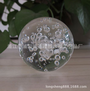 Wholesale 80mm 90mm Crystal Glass Bubble Ball for Decoration pictures & photos