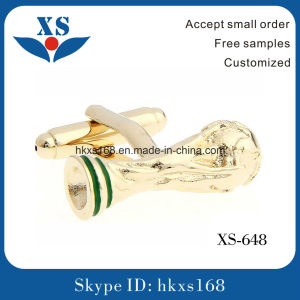 Gold Plating Mens Custom Cufflinks