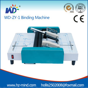 Professional Supplier Note Book Binding Machine Zy1 Automatic Stapler pictures & photos