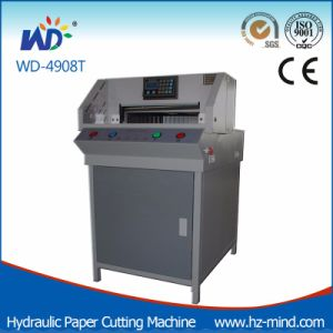 Professional Producer Program-Control Paper Cutting Machine (WD-4908T) pictures & photos