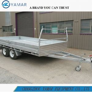 12FT. X8FT. Flat Top Farm Trailer/Cargo Trailer pictures & photos