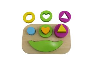Wooden Shape Block Puzzle Sorter Toy for Kids and Children pictures & photos