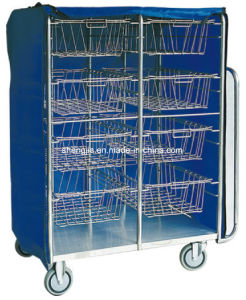 Sjt078 Article Delivery Cart with Baskets